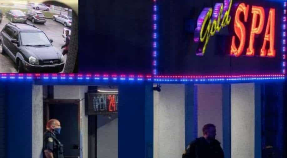Georgia massage parlor shootings leave 8 dead; man captured