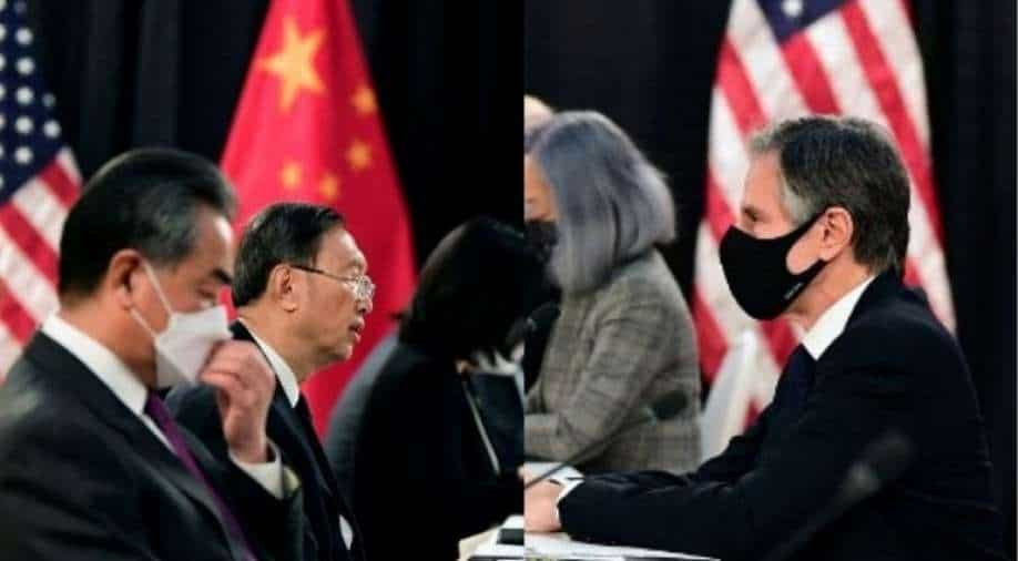 China talks resume after fiery opening exchange