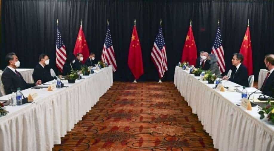 Sensed strong smell of gunpowder in United States talks, says China