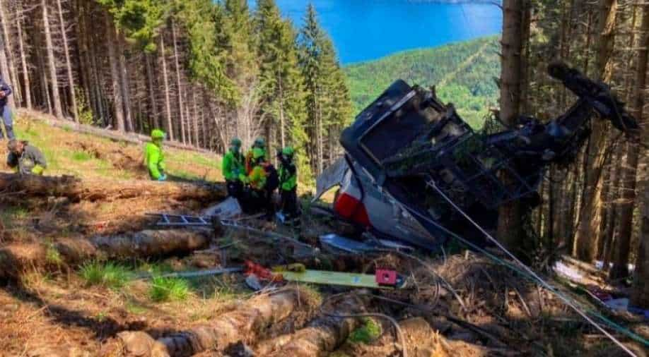 At least 12 dead in cable auto  accident in Italy