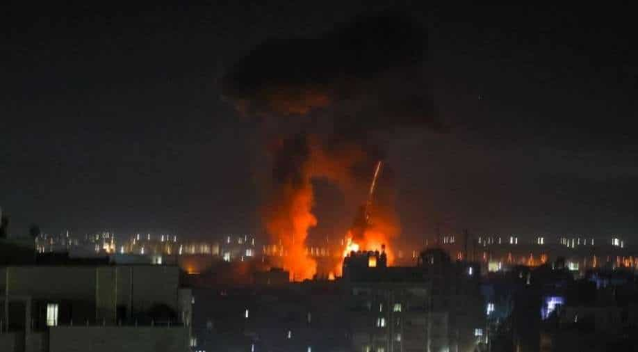 Israel carries out fresh airstrike in response to Palestinian arson balloons