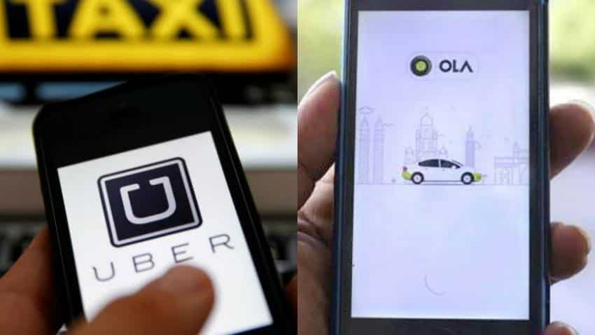 Uber and Ola apps