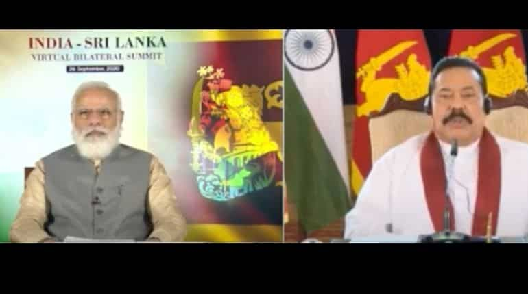 India-Sri Lanka virtual summit
