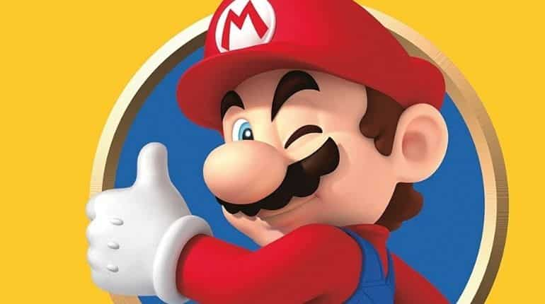 It is Super Mario Bros. that's 35, not Mario. He's 39