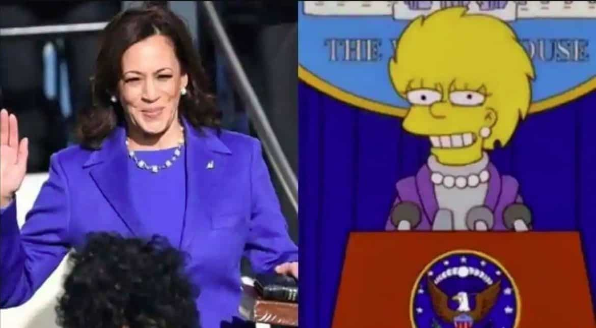 The Simpsons Totally Predicted Kamala Harriss