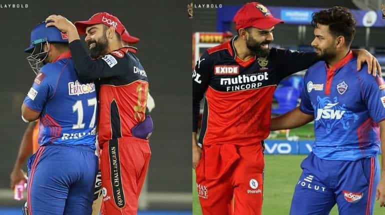 IPL 2021- WATCH: Virat Kohli and Mohammed Siraj's gesture for Rishabh Pant and Shimron Hetmyer wins hearts (Photo: RCB)