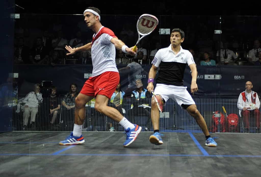 GHOSAL: SOCIAL DISTANCING IMPOSSIBLE DURING A SQUASH MATCH