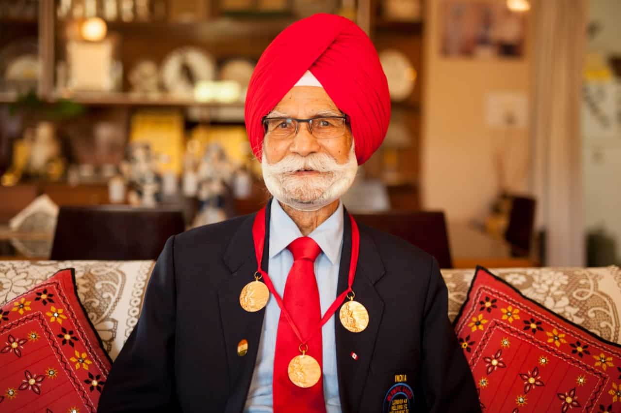 Balbir Singh Sr orchestrated India's three gold medal-winning campaigns at the Olympics