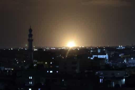 Israel's Gaza airstrike