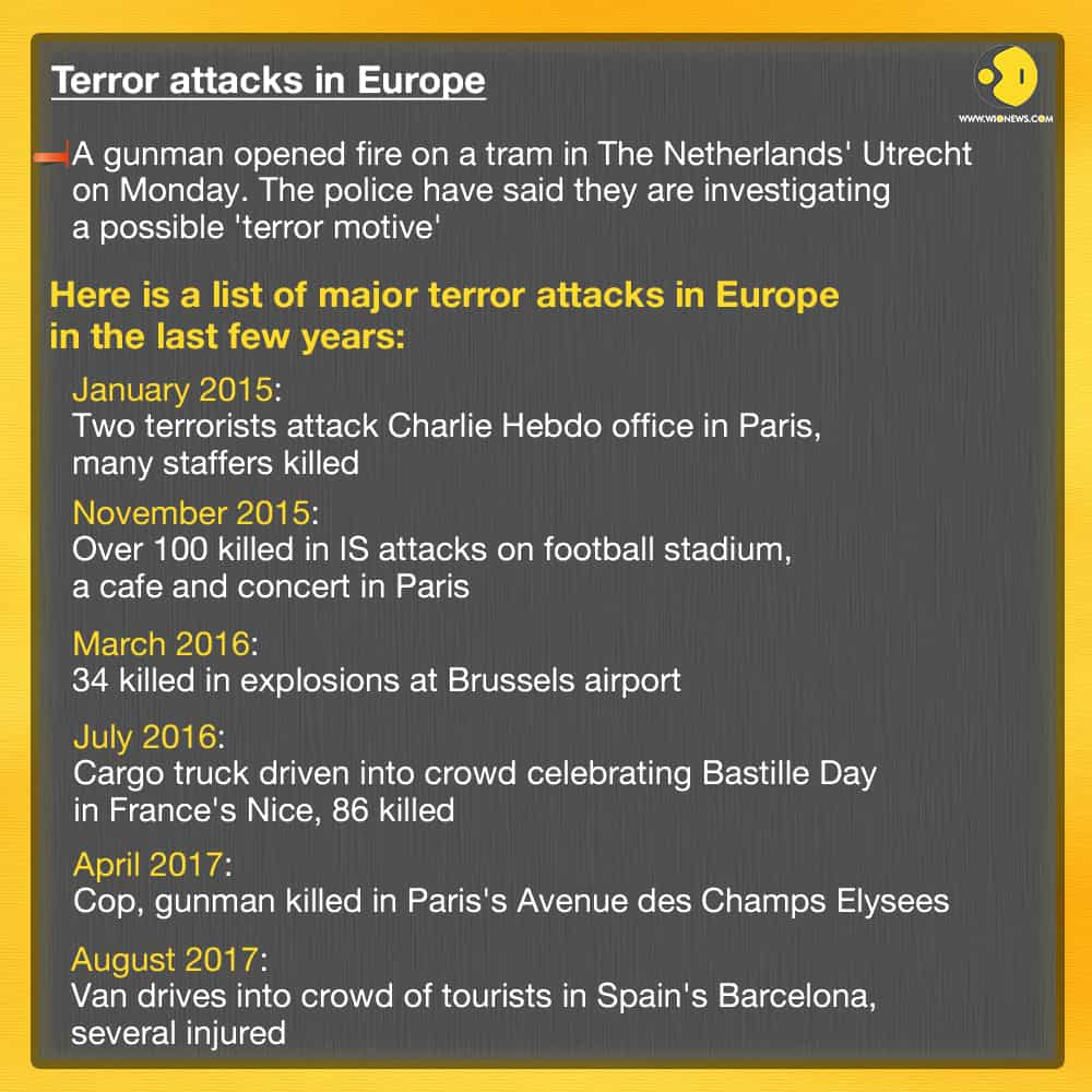 Terror attacks in Europe