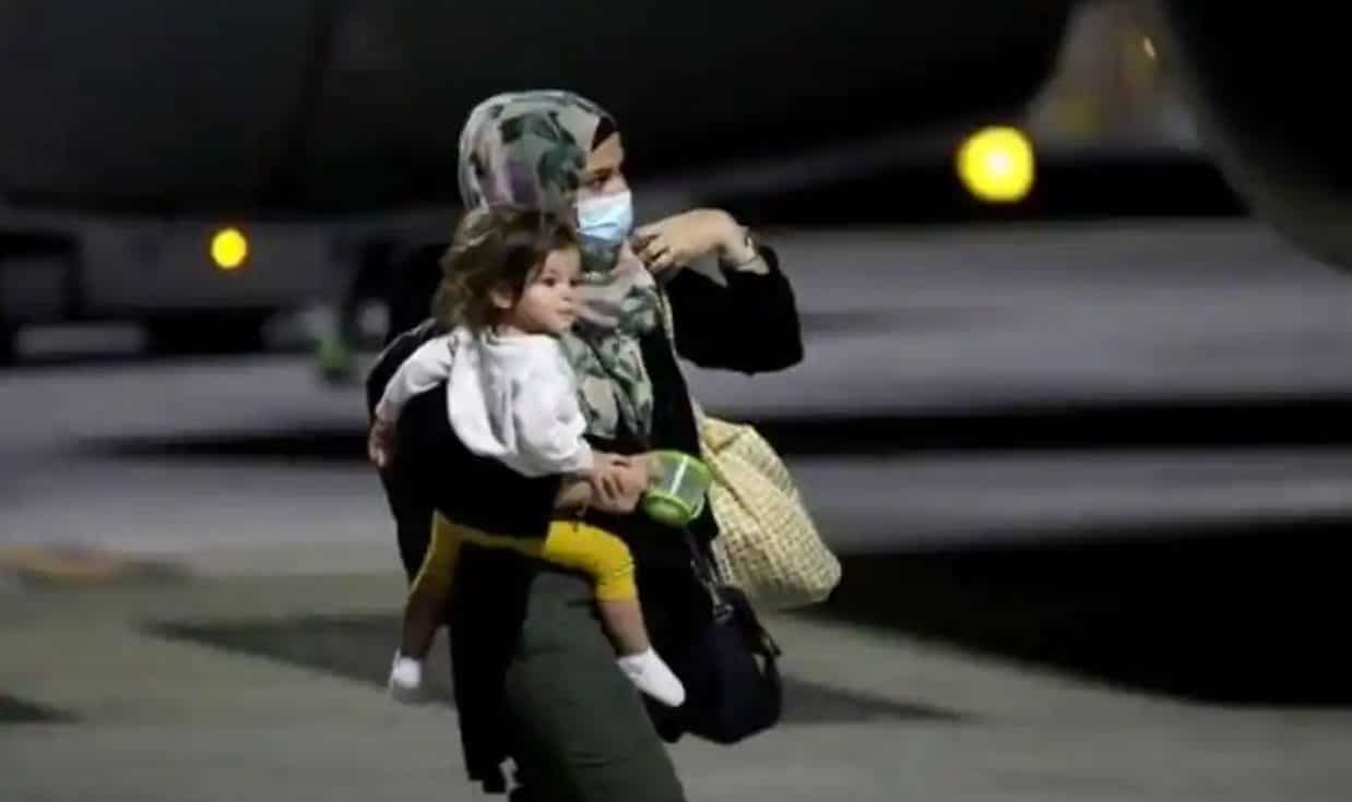 Shortly after US troops left Taliban-controlled Afghanistan, a second charter flight successfully left the country on Friday.
