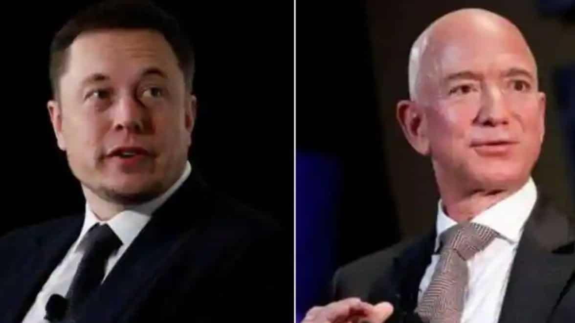 Założyciel SpaceX, Elon Musk, po raz kolejny obraził zamożnego konkurenta Jeffa Bezosa na Twitterze za złożenie pozwów przeciwko jego firmie.