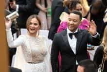 Chrissy Teigan with husband John Legend