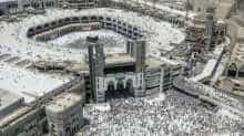 Haj pilgrimage in the holy city of Mecca