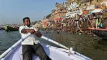Varanasi is one of the holiest pilgrimage sites for the Hindus.