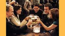 How I Met Your Mother is a popular TV series about the lives of 5 friends