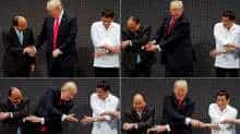 Traditional ASEAN handshake