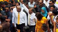 File photo of Maldives President Mohamed Solih.