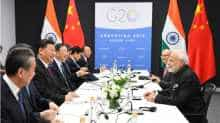 Prime Minister Narendra Modi meets Chinese president Xi Jinping on the sidelines of the 13th G20 Summit in Buenos Aires, Argentina.