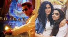 Katrina Kaif and Salman Khan in new stills from their film 'Bharat'.