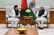 Foreign Affairs Minister of Bangladesh Dr. AK Abdul Momen meeting Prime Minister Narendra Modi on Thursday