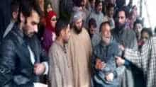 Relatives mourning the death of deceased SPO Khusboo Jan on Saturday.