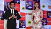 Ranbir and Alia entered the venue separately but left hand-in-hand in one car.