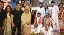 Aashritha Daggubati tied the knot with Vinayaka Reddy.