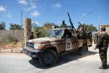 Libyan National Army in Tripoli