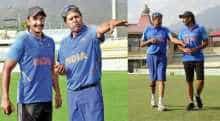 Ranveer Singh learning from Kapil Dev for film '83'.