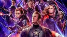 'Avengers; The Endgame' poster.