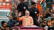 PM Modi's mega roadshow in Varanasi