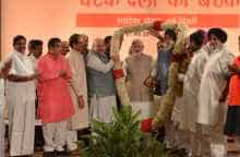 NDA leaders with PM Modi