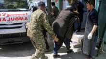 Suicide bomber attack in Afghanistan