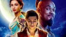 The official poster of 'Aladdin'.