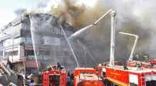 File photo of Surat coaching centre fire