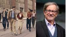 File image of Steven Spielberg and a still from 'West Side Story'(Image via Twitter/@Amblin)