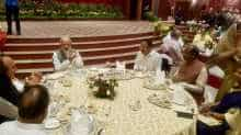 PM Modi hosted dinner for MPs