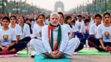 Narendra Modi on Yoga Day