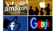 Google, Amazon, Apple, Facebook