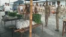 Up police's tribute