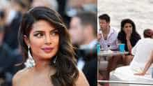Picture of Priyanka Chopra enjoying a smoke on a yacht has gone viral and drawn a lot of criticism