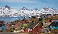 A view of Greenland