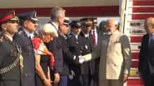 PM Modi arrives in Paris