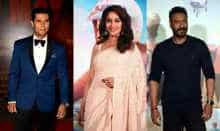 Image of Randeep Hooda, Madhuri Dixit and Ajay Devgn