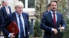 Boris Johnson and Xavier Bettel