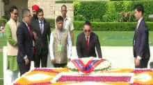 Mongolian President pays tribute to Gandhi