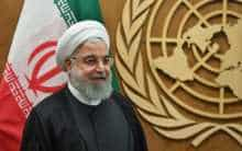 Rouhani at the United Nations in New York