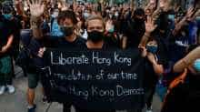 Hong Kong protesters stage peaceful rallies calling for liberation
