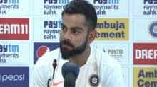 Indian cricket team captain Virat Kohli